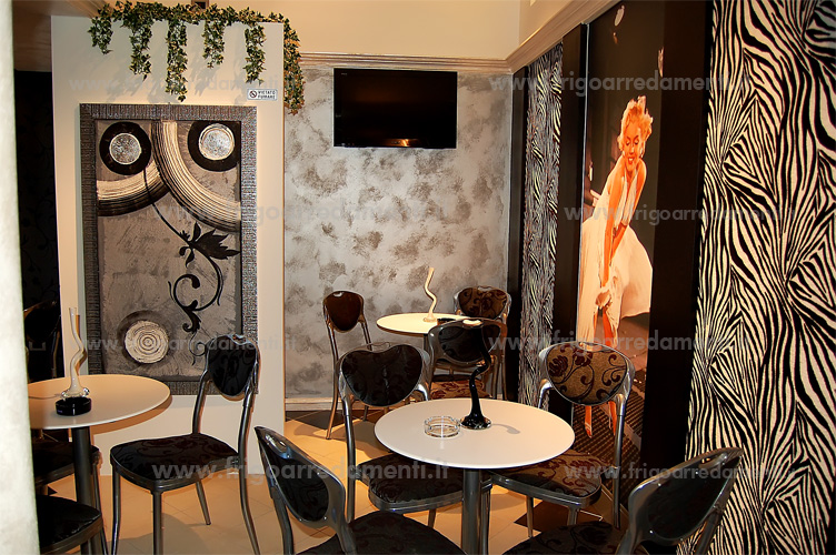 Arredamento Bar Stile Vintage : Bar ristorante francesco zarbano